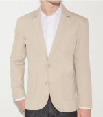 G by GUESS Resolute Blazer, DARK CHINO (XS)