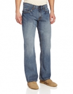 U.S. Polo Assn. Men's Boot Cut Five Pocket Jean, Blue, 33x32