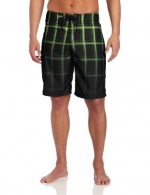 Hurley Men's Puerto Rico Blend Board Short, Black Green, 28