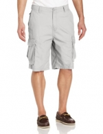 Nautica Men's Ripstop Cargo Short, Grey, 32