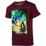 Billabong Monkey Around Slim T-Shirt - Short-Sleeve - Men's Burgundy, M