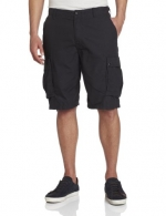 Nautica Men's Ripstop Cargo Short, Black, 30