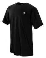 Champion Men's Cotton Jersey Mens T Shirt, 4XL-Black