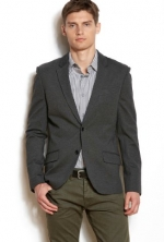 Armani Exchange Mens Ponte Knit Blazer