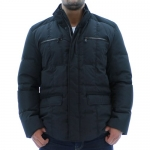 Kenneth Cole New York Men's Bubble Down Jacket Coat Black Size L