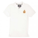 ecko unltd. Men's Euro Stee Polo Shirt (Bleach White, Large)