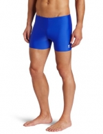 TYR Sport Men's Square Leg Short Swim Suit,Royal,30