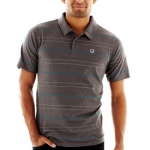DC - Mens Waited Polo Shirt, Size: Small, Color: Charcoal Heather