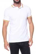 Sundek Polo Shirt BASIC, Color: White, Size: XS