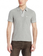 Original Penguin Men's Earl Polo Shirt, Rain Heather, Medium