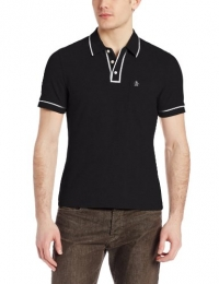 Original Penguin Men's Earl Polo Shirt, Caviar, Medium