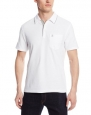 Original Penguin Men's Mearl Polo Shirt, Bright White, Large