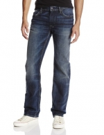 Buffalo by David Bitton Men's Driven Straight Leg Jean In Slightly Sandblasted, Slightly Sandblasted, 31x30