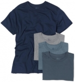 Fruit of the Loom Men's 4-Pack Crew Neck T-Shirt, Assorted, Small