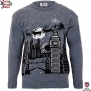 Christmas in London - Edition II - Mens Christmas Sweater by British Christmas Jumpers (XL)