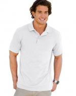 Hanes Adult ComfortSoft® Piquי Polo - White - XL