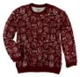 Marc Ecko Mens Game Over Crew Sweatshirt Crimsonrd Xs